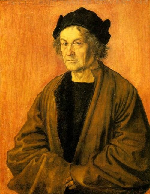 Отец. Дюрер Альбрехт-старший. (1497). Автор: Альбрехт Дюрер.