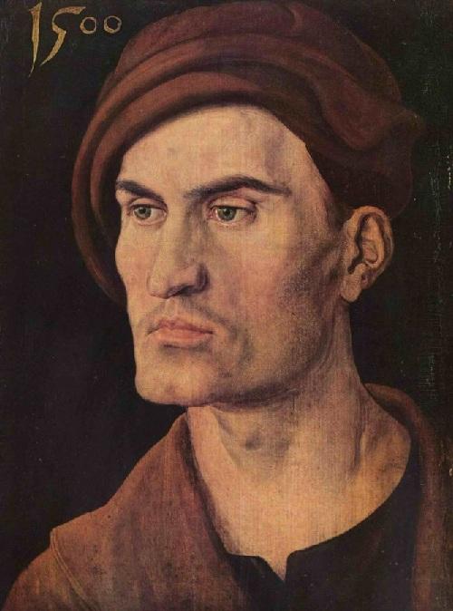 Брат. Дюрер Эндрюс.(1500) Автор: Альбрехт Дюрер.
