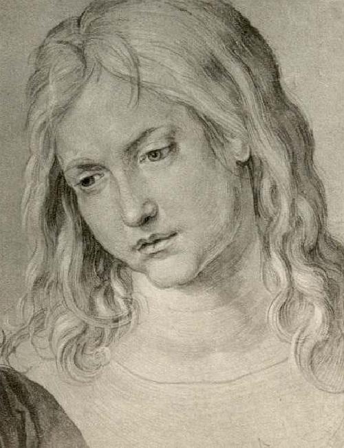 Брат. Дюрер Ганс. (1506). Автор: Альбрехт Дюрер.
