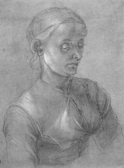Портрет Агнес. 1497. Автор: Альбрехт Дюрер.