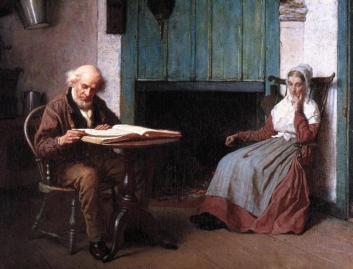 Жанровая живопись Истмена Джонсона.