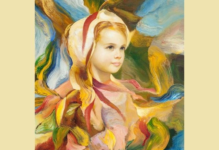 Портрет девочки от Франсиско Массерии.  |Фото:livejournal.com