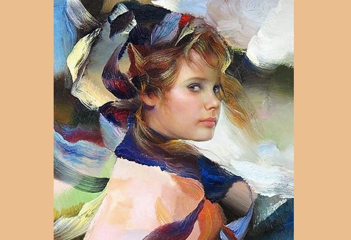 Портрет девочки от Франсиско Массерии. |Фото: livejournal.com