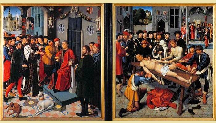 «Суд Камбиса».(1498). Автор: Давид Герард.