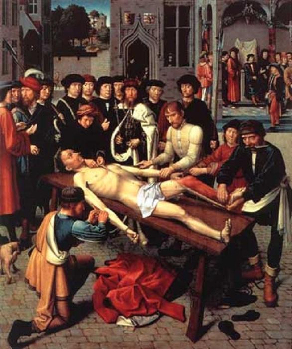 «Суд Камбиса». Вторая часть диптиха. Автор: Давид Герард.