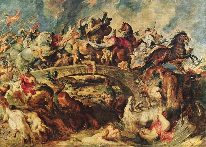 «Битва греков с амазонками». (1618). Старая Пинакотека. Мюнхен. Автор: Питер Пауль Рубенс.