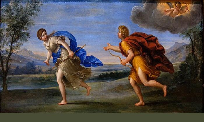 «Аполлон и Дафна». Лувр. Париж. Автор: Франческо Альбани.