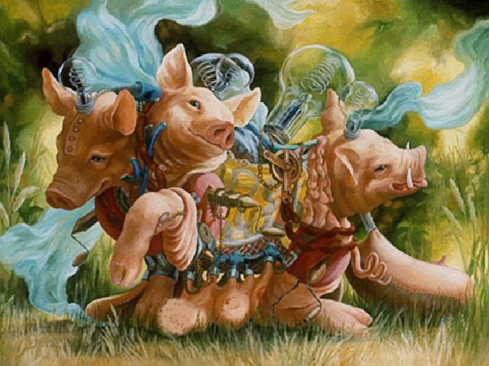 Сиамские близнецы. Автор: Хайди Тайллефер.  Фото: nevsepic.com.ua.