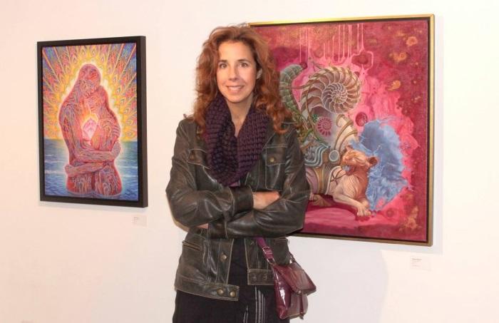 Современная канадская художница Хайди Тайллефер (Heidi Taillefer).