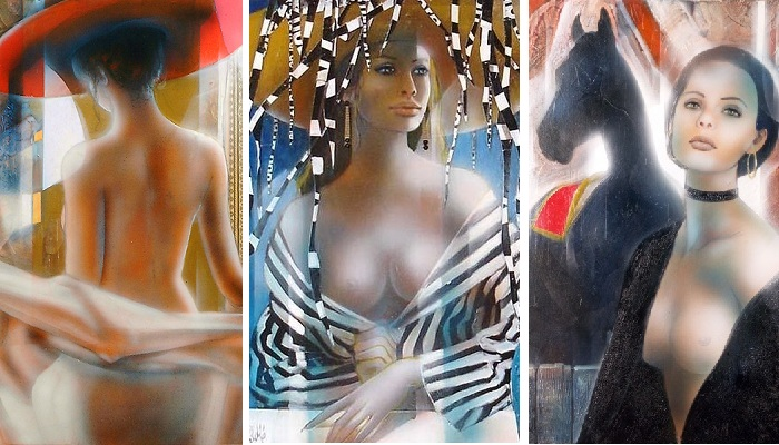 Женщина глазами художника Жан-Батиста Валади.