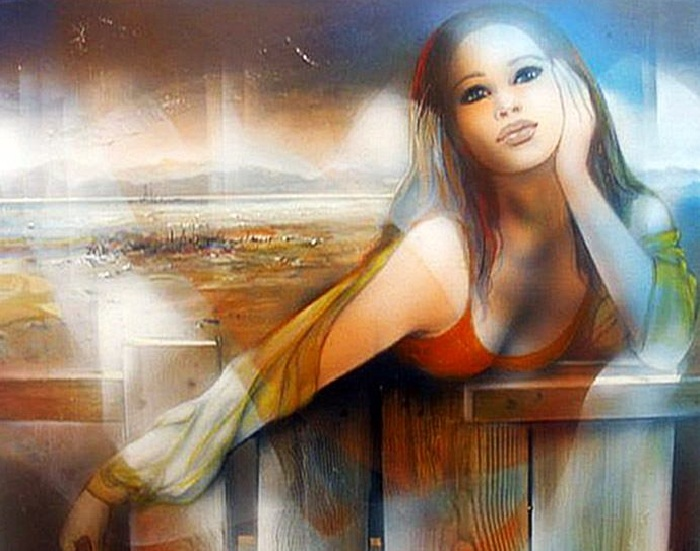 Женщина глазами художника Жан-Батиста Валадье.  Фото wwvalue.com