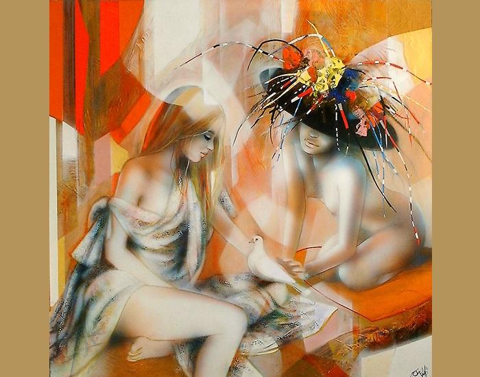 Женщины глазами художника Жан-Батиста Валади.|Фото:liveinternet.ru