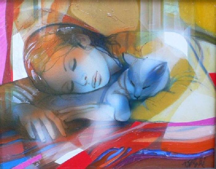 Женщина глазами художника Жан-Батиста Валади. |Фото: fr.pinterest.com