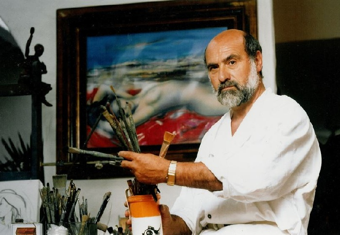 Французский художник Жан-Батист Валади. |Фото: jbvaladie.unblog.fr