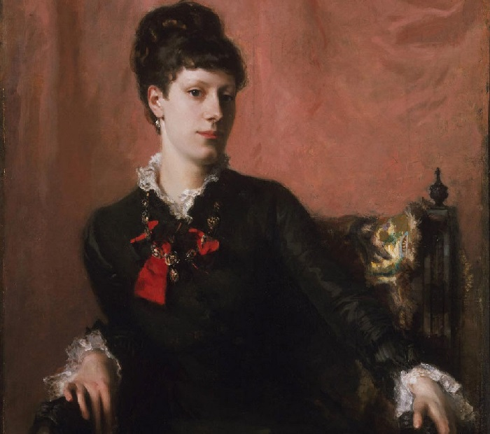 «Портрет Фанни Уотс». (1877 год). Автор: Джон Сингер Сарджент.