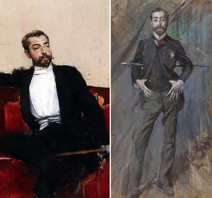 Портрет Джона Сингера Сарджента.  Автор: Джованни Болдини (1842-1931).