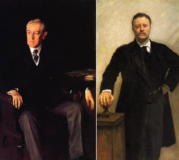 Президент США  / Президент Теодор Рузвельт.  Автор: Джон Сингер Сарджент.