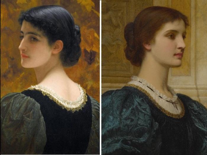 Кейт. (1870 год). Художник: Чарльз Перуджини.