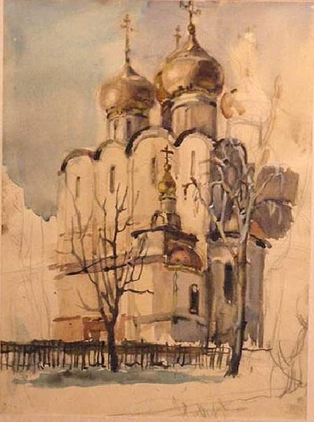 Храм. Автор: Коля Дмитриев.