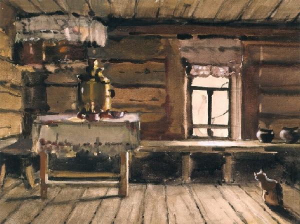 Горница. Автор: Коля Дмитриев.
