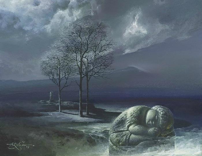 Сон в камне.Автор:<br>В.Коваль.