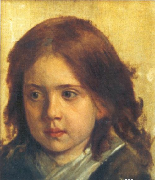 Портрет Сони Крамской. Начало 1870-х. Автор: И.Н.Крамской.| Фото:livejournal.com.