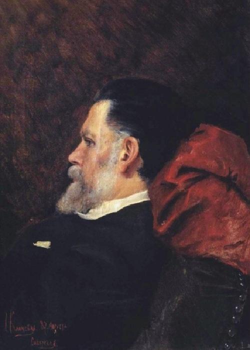 Портрет отца И.Н.Крамского. (1887). Автор: С.И.Крамская. | Фото: cyclowiki.org.