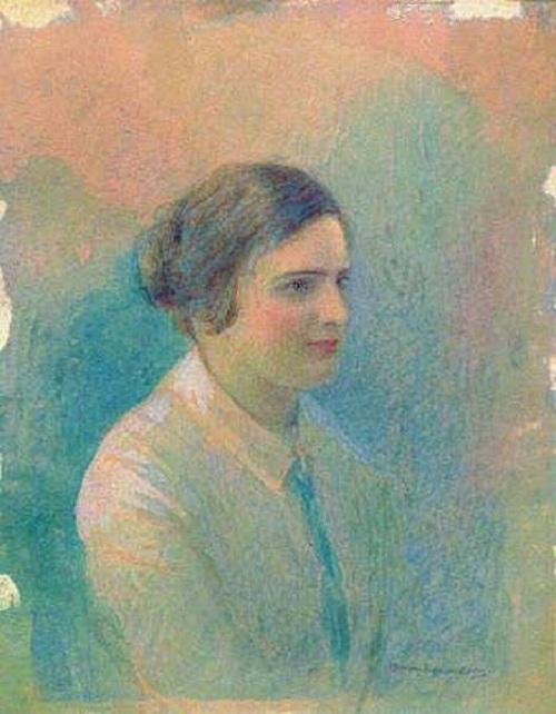 Портрет М.И. Ицыной . Автор: С.И.Крамская. ¦ Фото: cyclowiki.org.