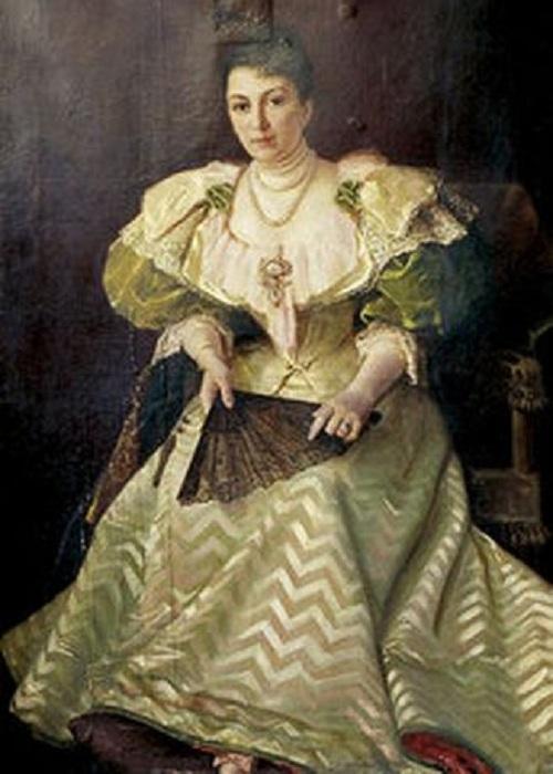 Портрет актрисы М.Г.Савиной. Автор: С.И.Крамская. | Фото: cyclowiki.org.