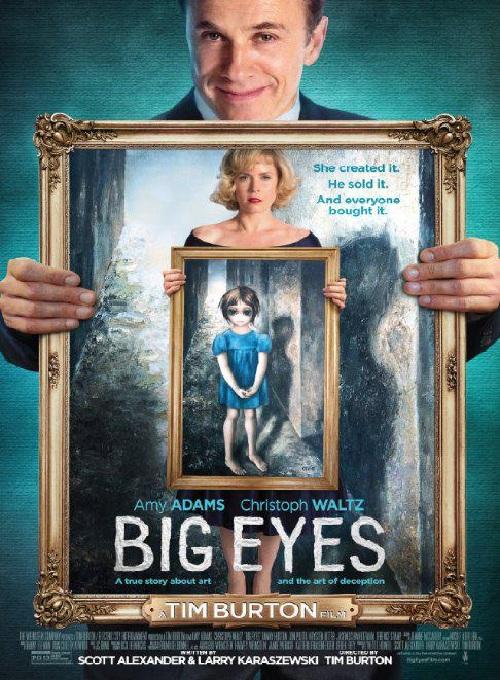 Реклама фильма Большие глаза. ¦ Фото: liveinternet.ru.