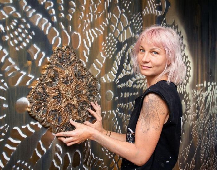 Польская художница НеСпун.  | Фото: vltramarine.ru
