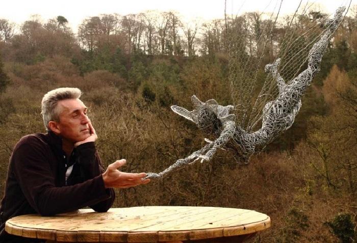 Робин Уайт - британский скульптор-самоучка. | Фото: adme.ru.