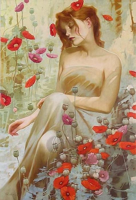 Арт-нуво от Светланы Валуевой.