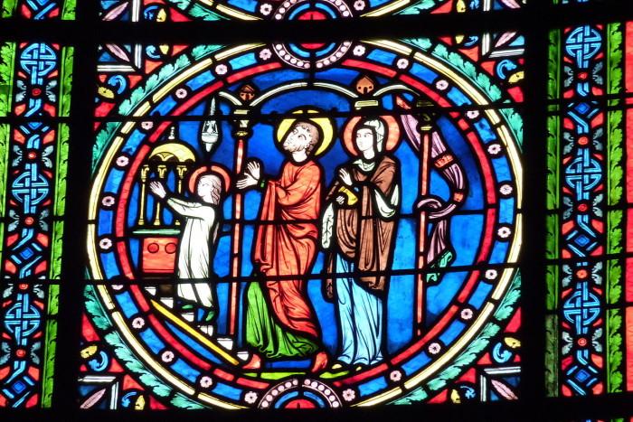 Кафедральный собор Сен-Маклу в Понтуазе. Франция