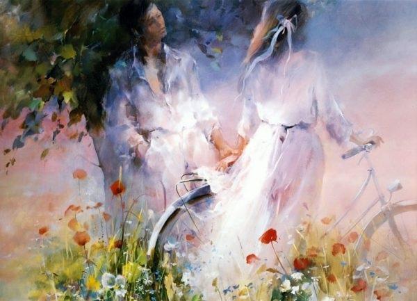 « Душа еще жива любовью и мечтой. » Автор: Willem Haenraets.