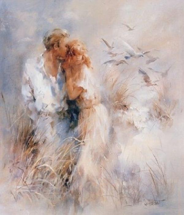 «Любовь - это Богом укутанный, белый Храм...»  Автор: Willem Haenraets.