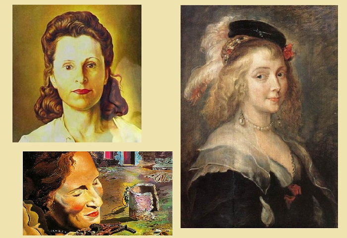 Портреты Елены Дьяконовой, Елены Фоурмен.