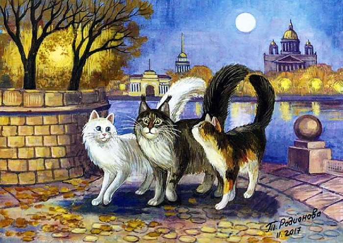 Эскорт кота Васьки.
