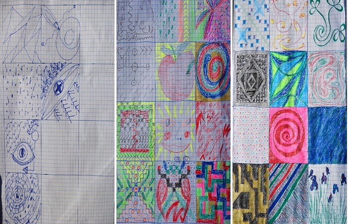 Рисунки пациентов Бахтыбека Талкамбаева.