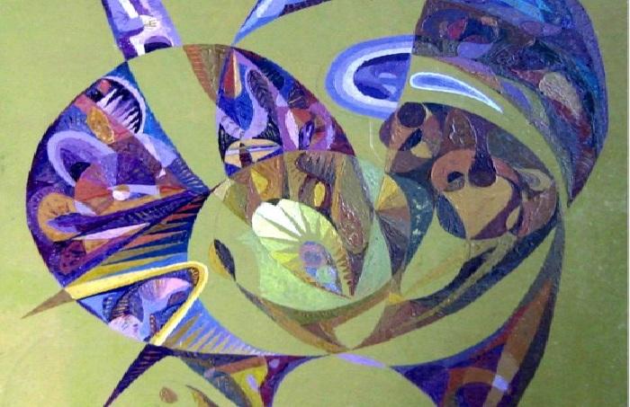 Исцеляющие картины от Бахтыбека Талкамбаева.