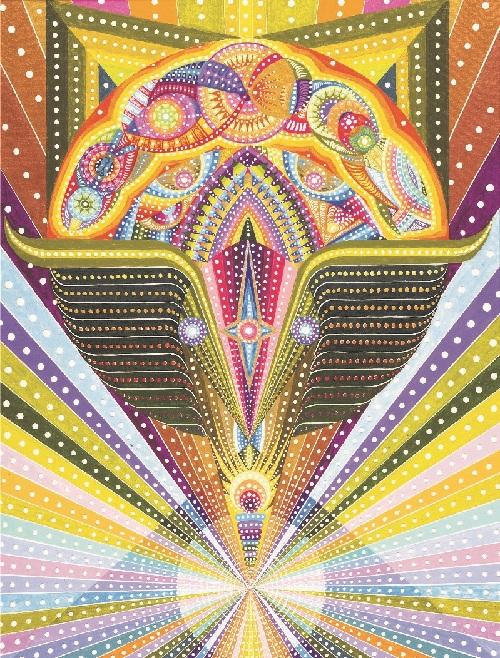 Уран. Исцеляющие картины от Бахтыбека Талкамбаева.