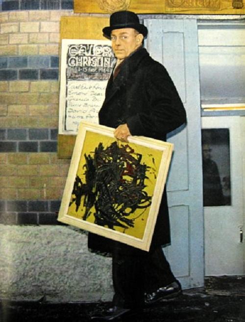 Бертил Эклёт, который купил картину Пьера Брассо. | Фото: livejournal.com.
