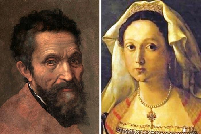 Микеланджело Буонарроти. / Виттория Колонна.