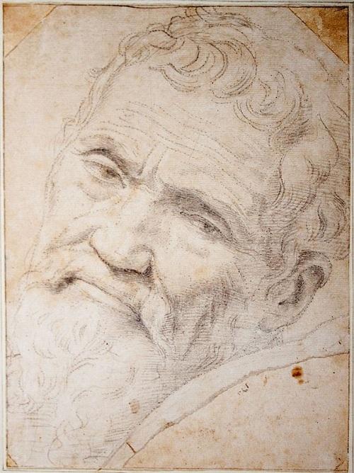 Микеланджело Буонарроти. Автор: Даниэле да Вольтерра.