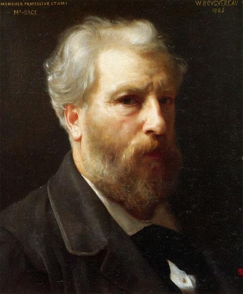 Вильям Бугро. Автопортрет. Автор: William Bouguereau.