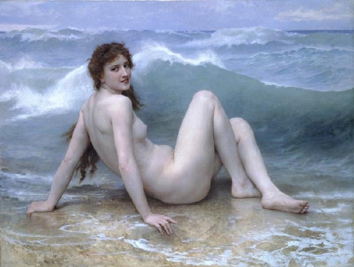 «Волна». Автор:  William Bouguereau.