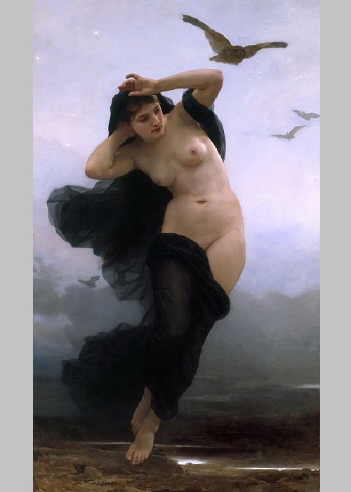 «Ночь». Автор:  William Bouguereau.