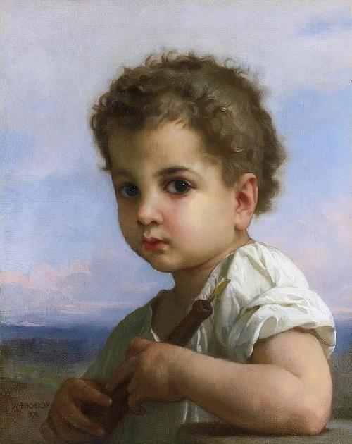 «Юный флейтист». Автор: William Bouguereau.