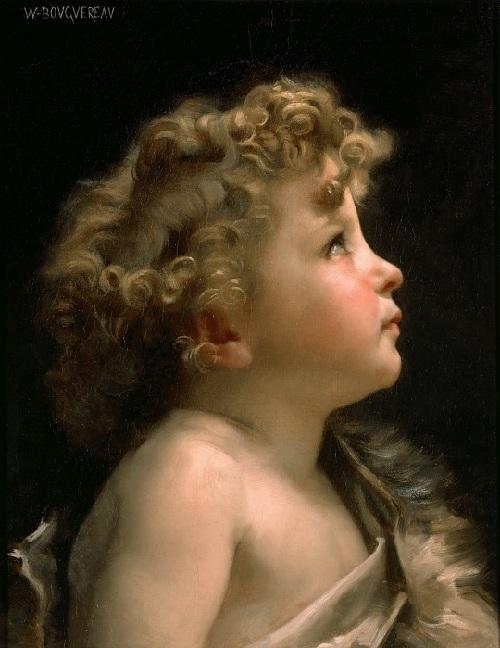 Юный Иоанн Креститель. Автор: Адольф Вильям Бугро.