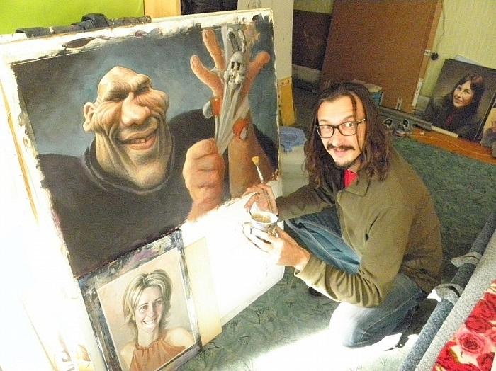 Денис Лопатин - известный российский художник- карикатурист.